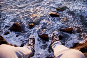 Cliff Feet View
