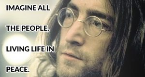 John Lennon - Imagine Quote