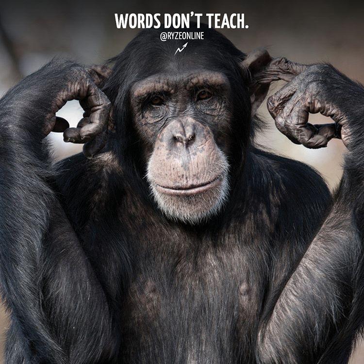 Words Don't Teach