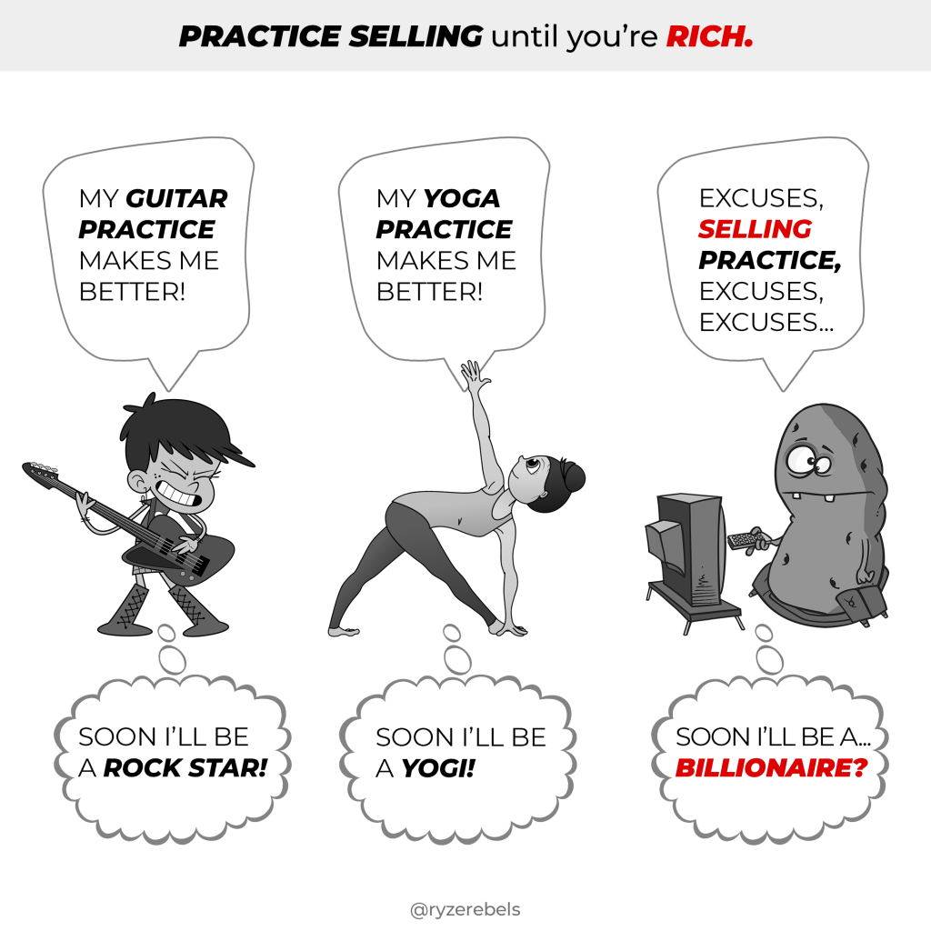 Practice Selling