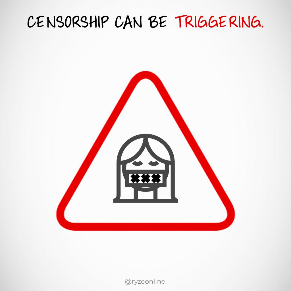 Censorship Trigger Warning