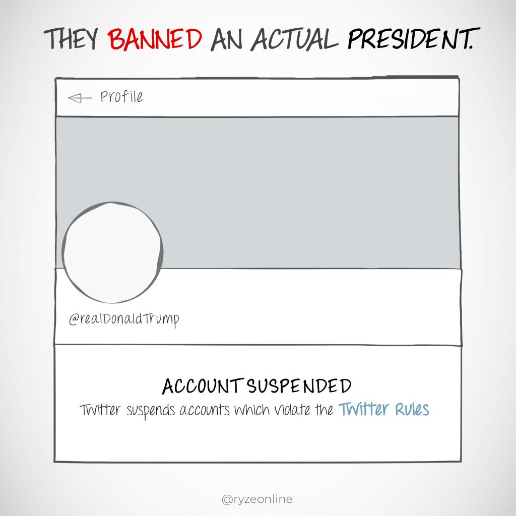Twitter Banned President Donald Trump
