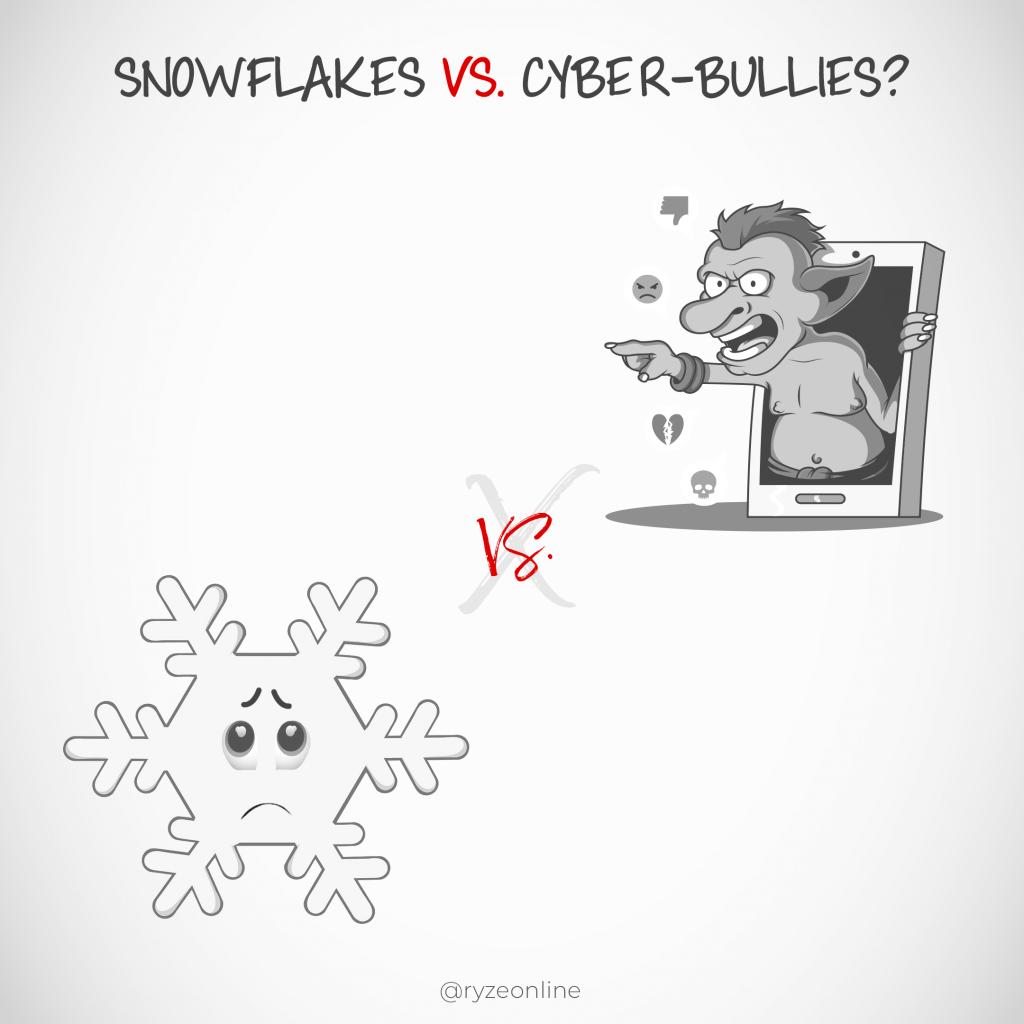 Snowflakes Vs Cyberbullies