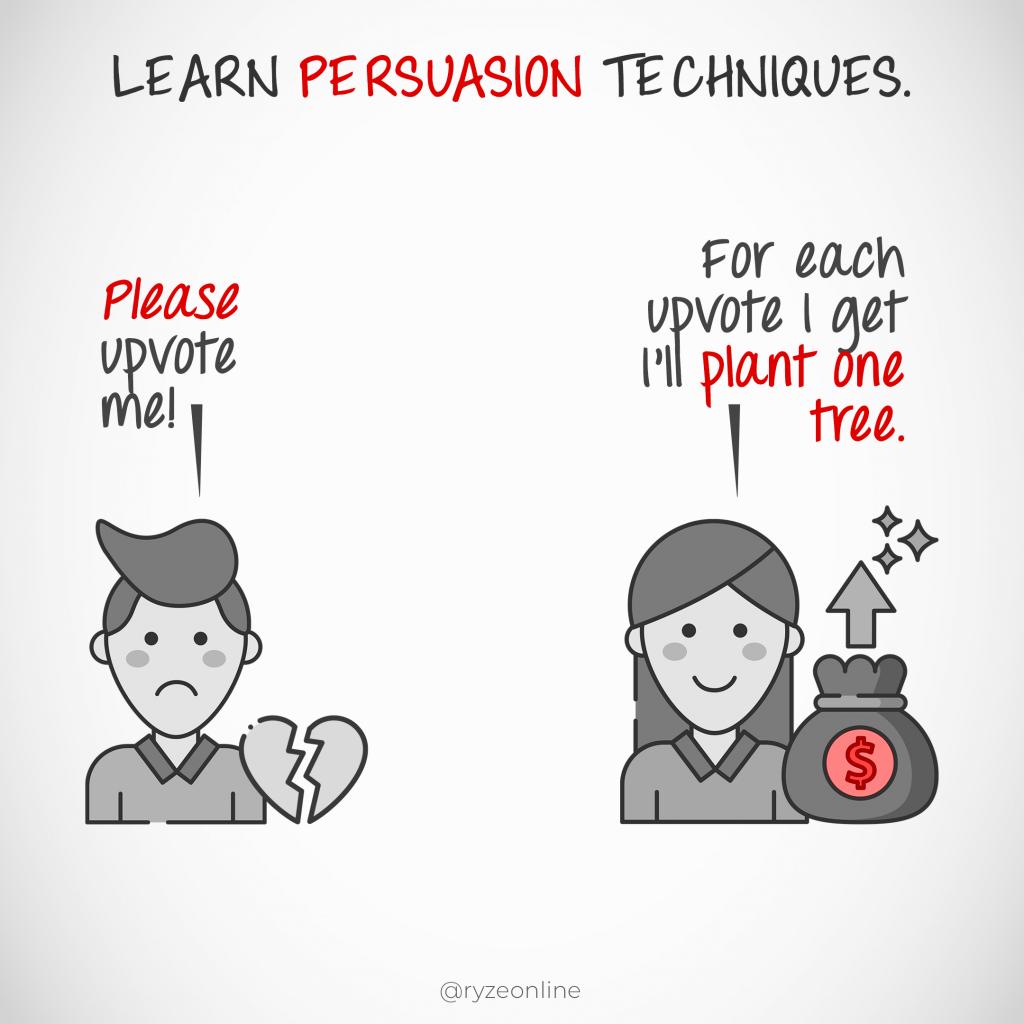 Learn Persuasion Techniques
