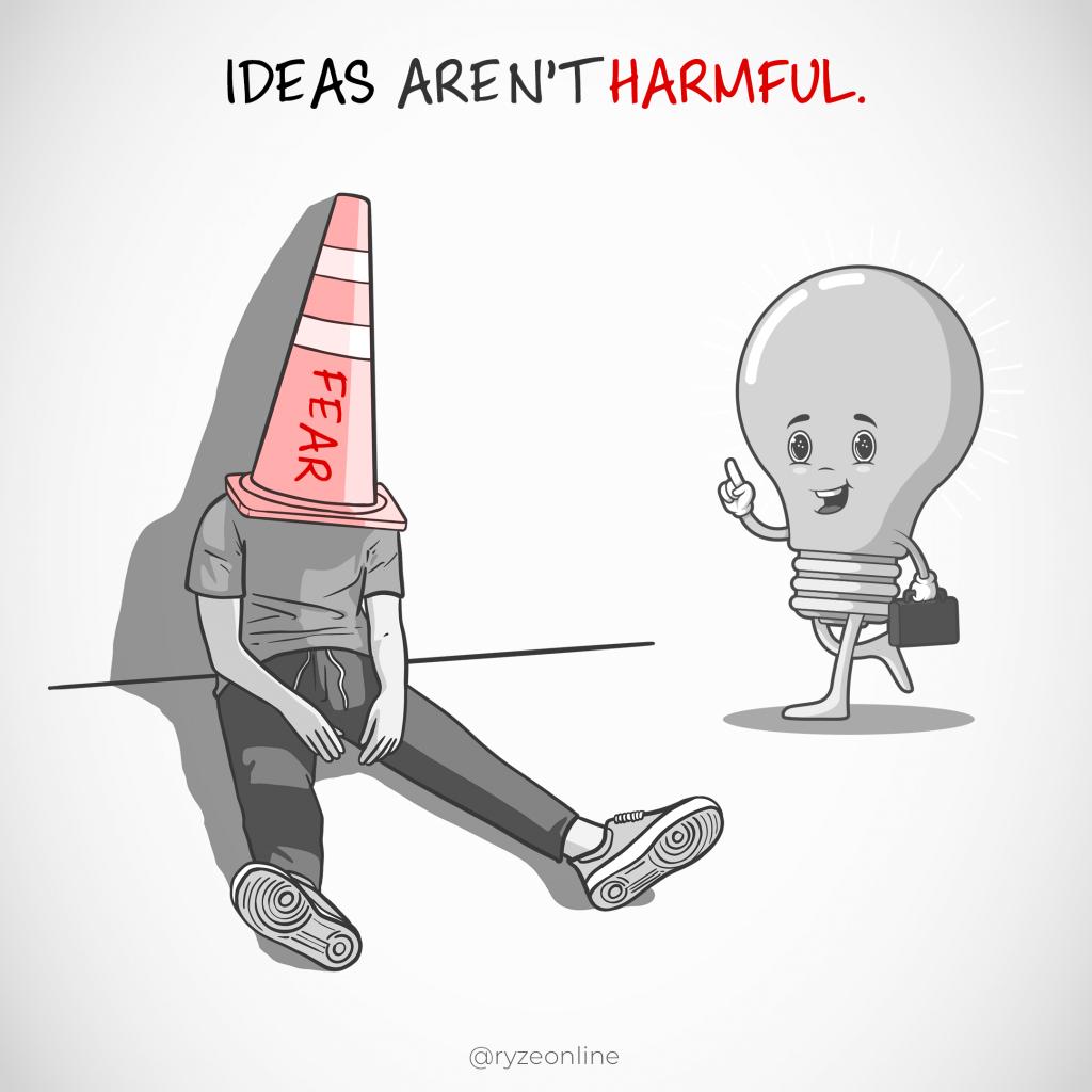 Ideas Aren't Harmful