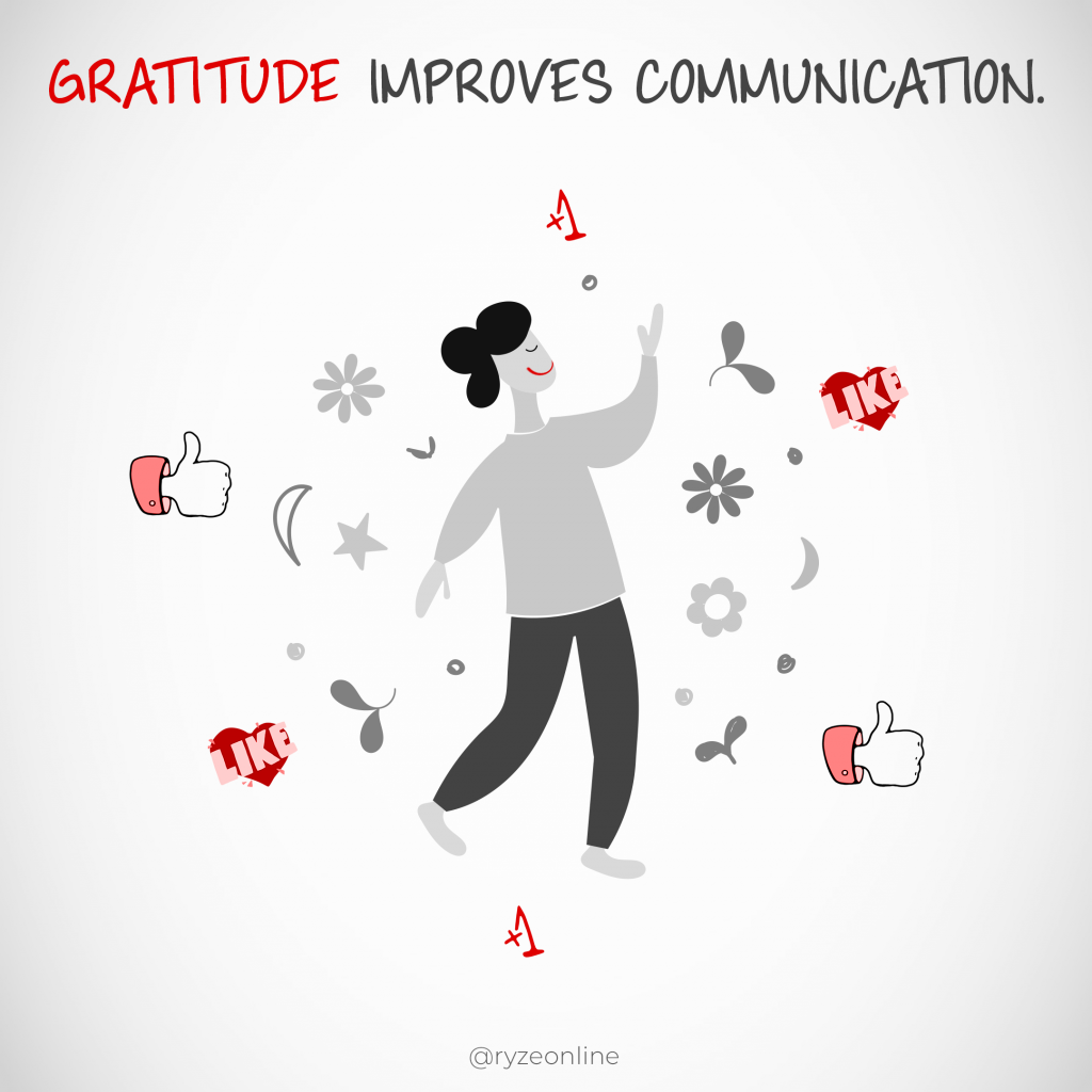 Gratitude Gets Attention