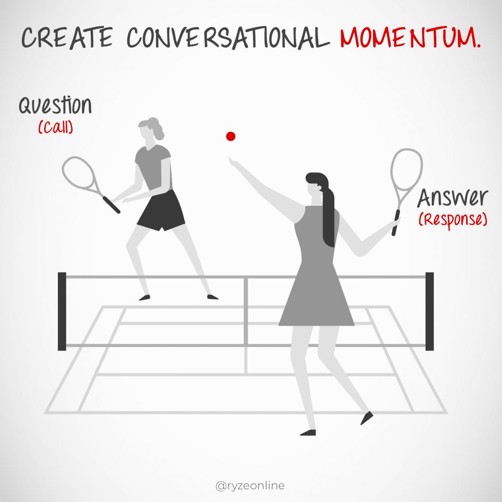 Word Tennis - Conversational Momentum